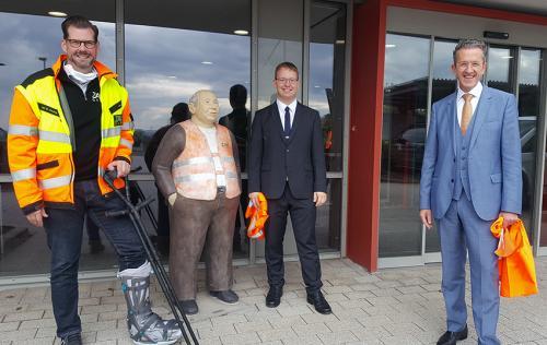 Jan Deubig, Dominik Stihler, Dr. Joachim Streit.