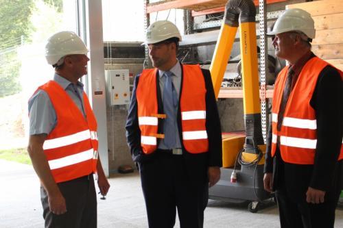 Bundestagsabgeordneter Xaver Jung besucht ZAK
