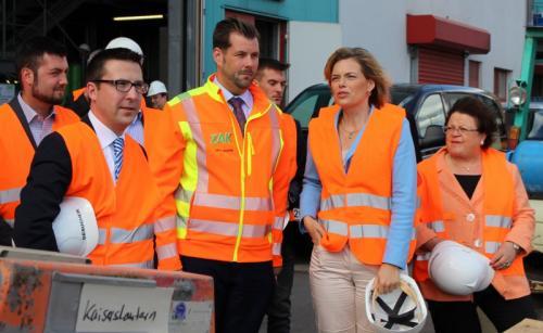 Landtagsabgeordnete und CDU-Fraktionsvorsitzende Julia Klöckner besucht die ZAK