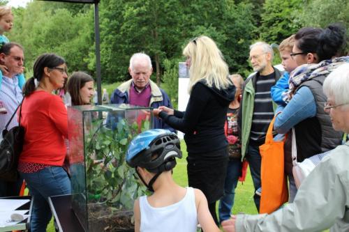 Die ZAK auf dem Umweltaktionstag der Gartenschau